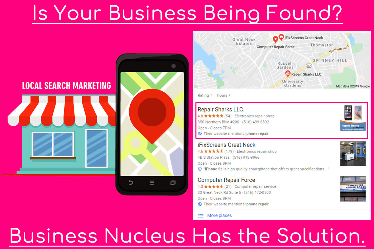 Google Local Marketing Top 3