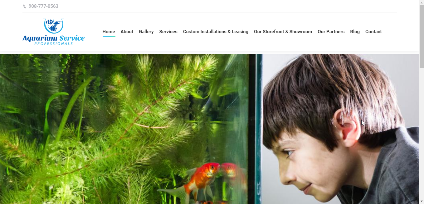 Aquarium Service Pros Website