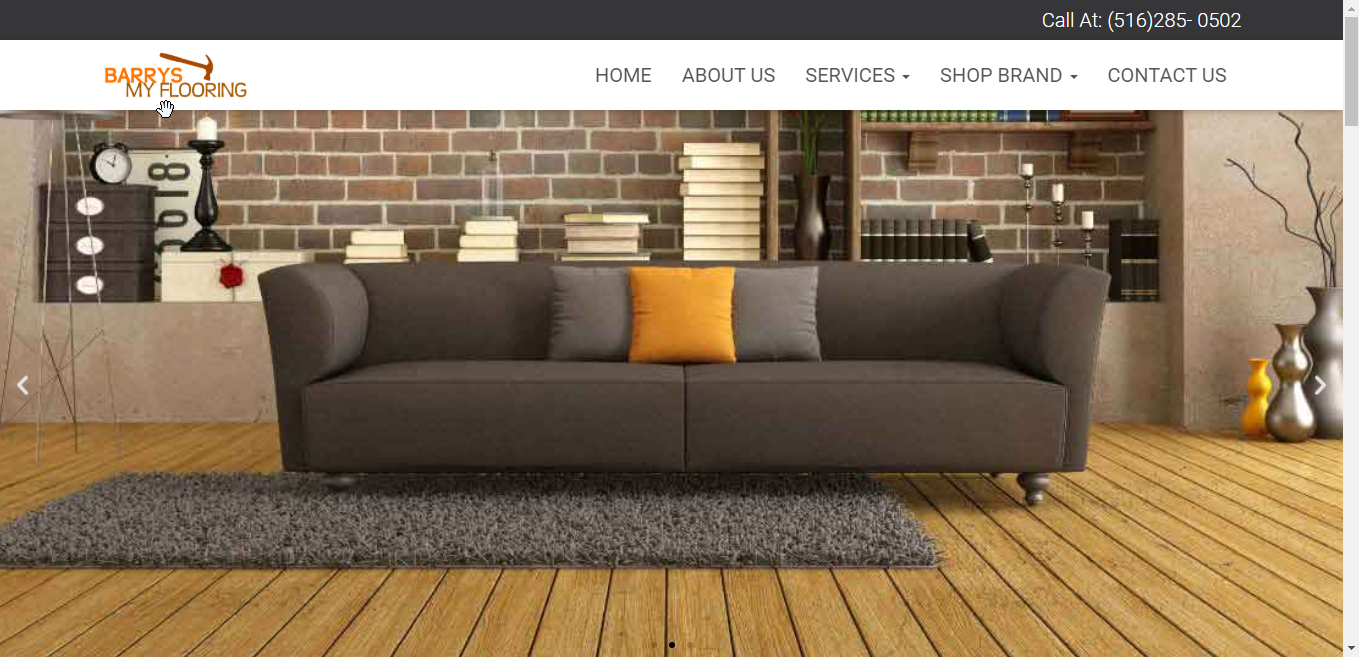 Barrys My Flooring Website