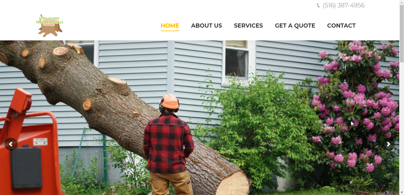 Long Island Tree Removals Website