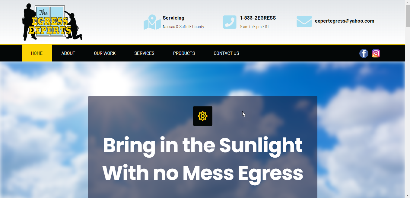 The Egress Experts Website